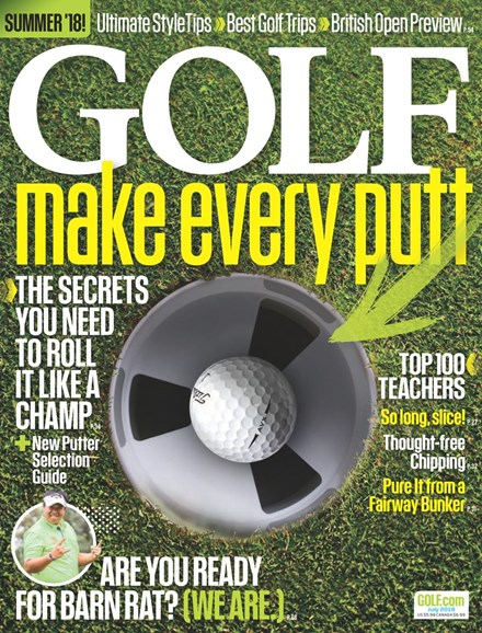 Golf Magazine Cover - 7/1/2018