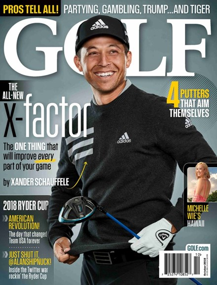 Golf Magazine Cover - 10/1/2018