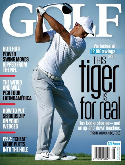 Golf Magazine Cover - 9/1/2018