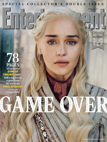 Entertainment Weekly Cover - 3/15/2019