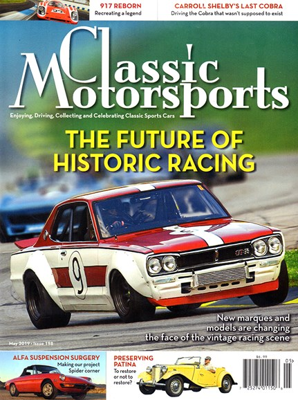Classic Motorsports Cover - 5/1/2019
