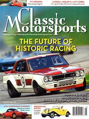 Classic Motorsports Magazine | 5/2019 Cover