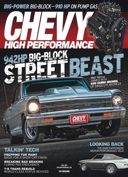Chevy High Performance Cover - 6/1/2019