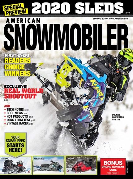American Snowmobiler Cover - 3/1/2019