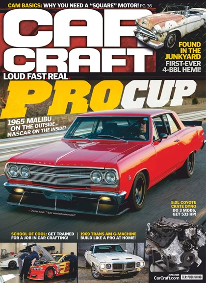 Car Craft Cover - 6/1/2019