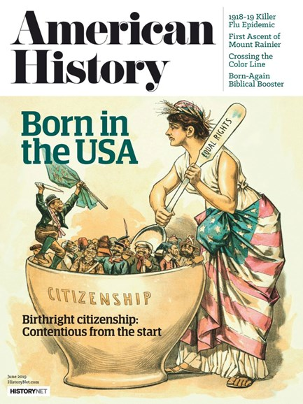American History Cover - 6/1/2019