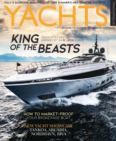 Yachts International Cover - 3/1/2019