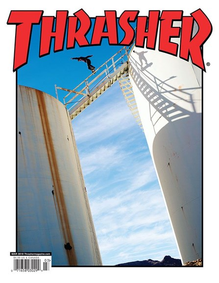 Thrasher Cover - 3/1/2019