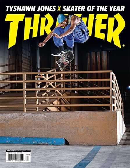 Thrasher Cover - 4/1/2019