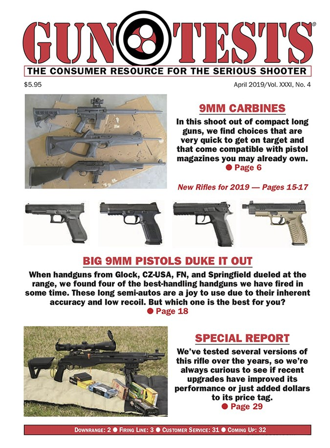 Best Price for Gun Tests Magazine Subscription