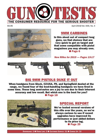Gun Tests Cover - 4/1/2019