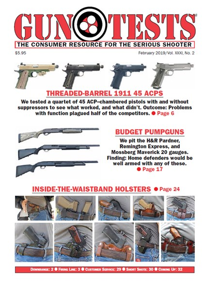 Gun Tests Cover - 2/1/2019
