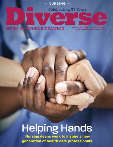 Diverse: Issues In Higher Education Cover - 2/21/2019