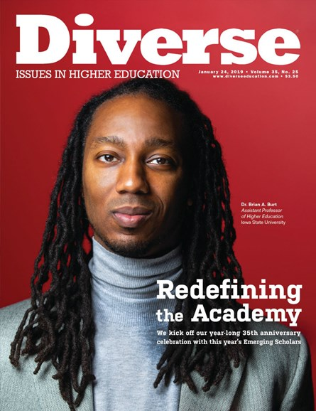 Diverse: Issues In Higher Education Cover - 1/24/2019