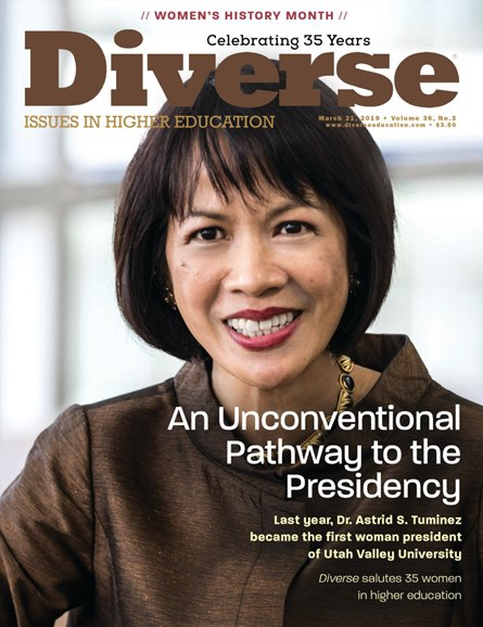 Diverse: Issues In Higher Education Cover - 3/21/2019