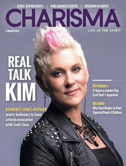 Charisma Cover - 2/1/2019