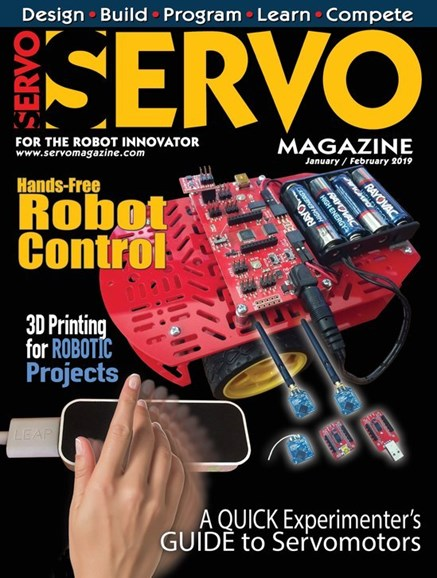 Servo Magazine Cover - 1/1/2019
