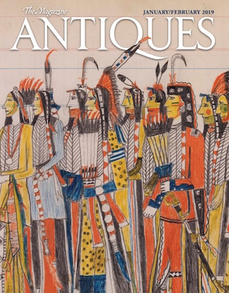 The Magazine Antiques Cover - 1/1/2019