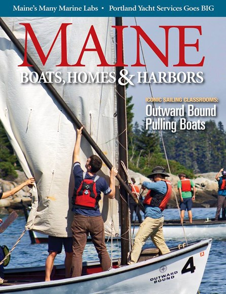 Maine Boats, Homes & Harbors Cover - 3/1/2019