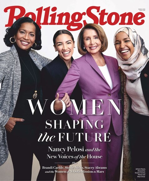 Rolling Stone Cover - 3/1/2019