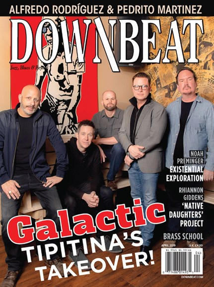 DownBeat Cover - 4/1/2019