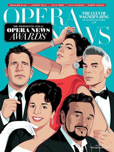 Opera News Cover - 4/1/2019