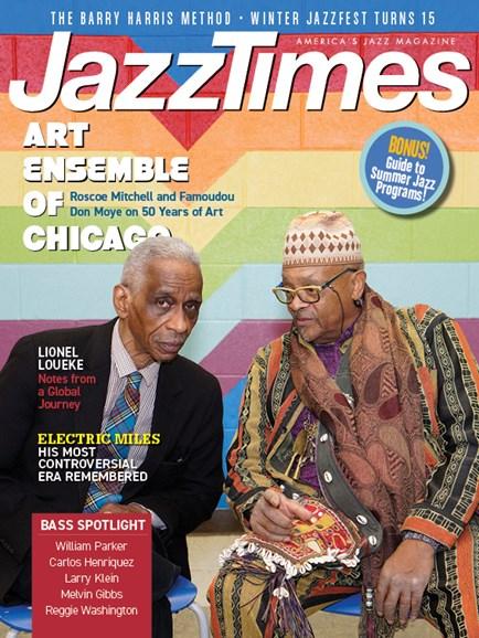 JazzTimes Cover - 4/1/2019