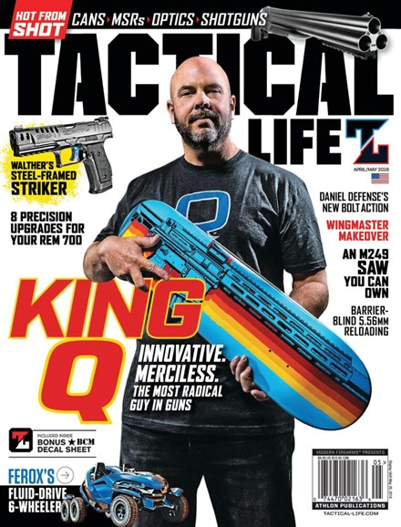 Tactical Life Cover - 4/1/2019