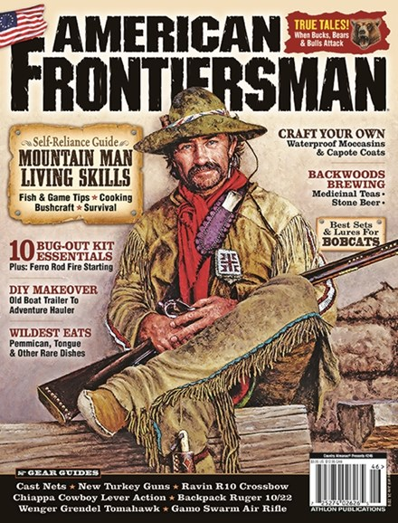 American Frontiersman Cover - 3/1/2019