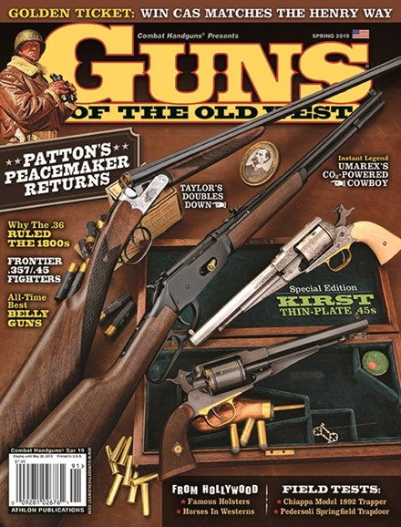 Guns Of The Old West Cover - 3/1/2019