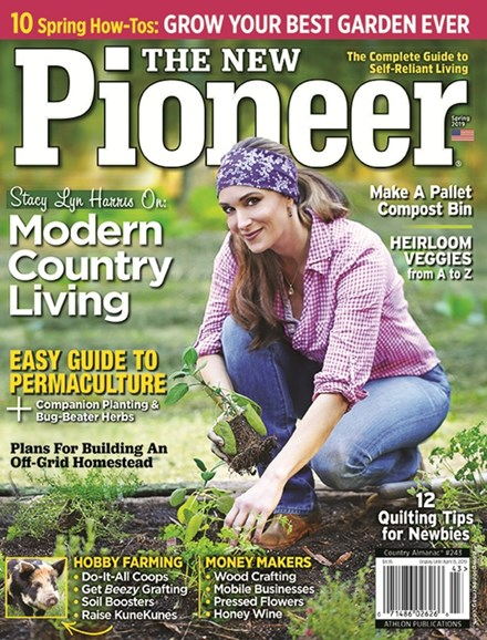 The New Pioneer Cover - 3/1/2019