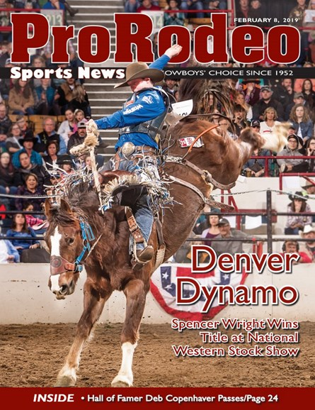 Pro Rodeo Sports News Cover - 2/8/2019