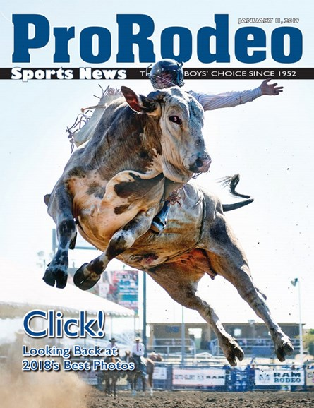 Pro Rodeo Sports News Cover - 1/11/2019