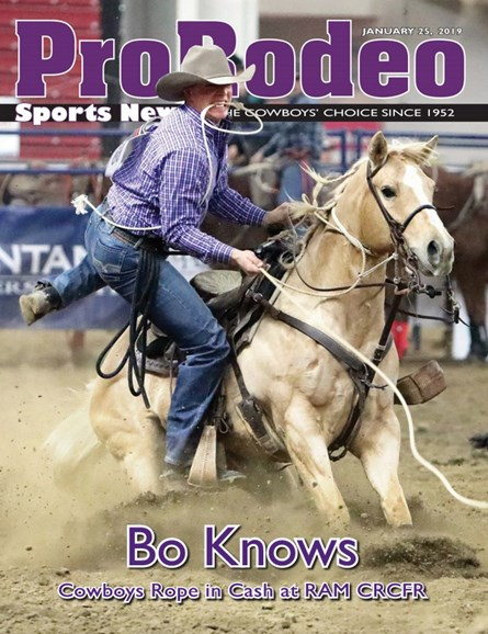 Pro Rodeo Sports News Cover - 1/25/2019