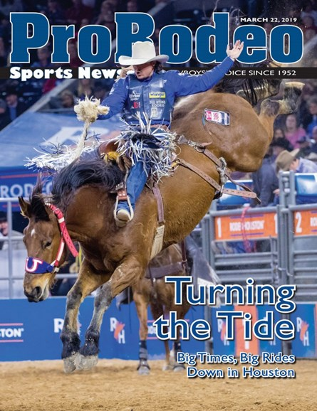 Pro Rodeo Sports News Cover - 3/22/2019