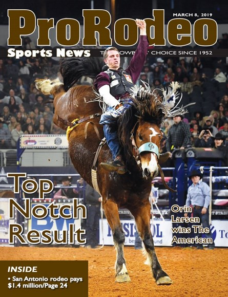 Pro Rodeo Sports News Cover - 3/8/2019