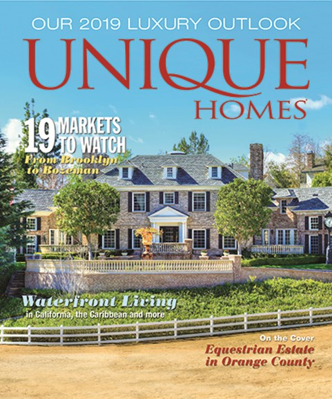 Unique Homes Cover - 1/1/2019