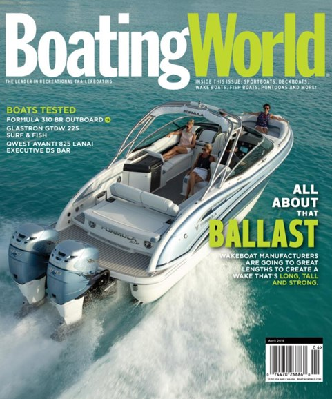 Boating World Cover - 4/1/2019