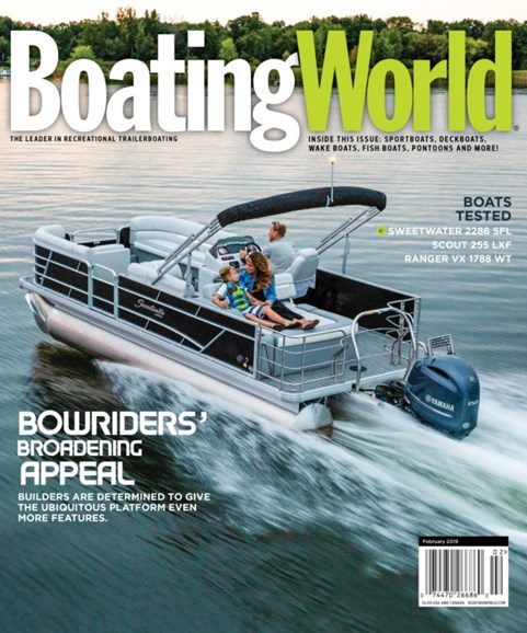 Boating World Cover - 2/1/2019