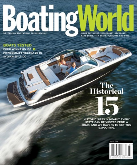 Boating World Cover - 3/1/2019