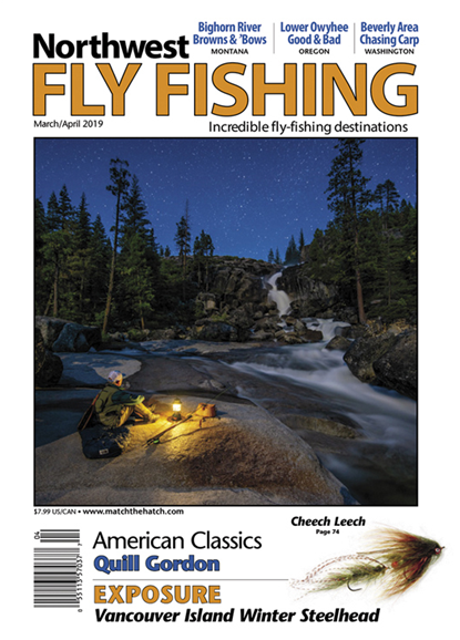 Northwest Fly Fishing Cover - 3/1/2019