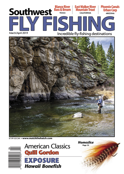 Southwest Fly Fishing Cover - 3/1/2019