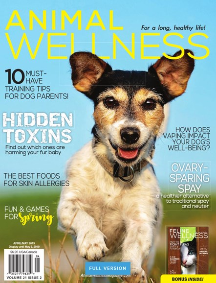 Animal Wellness Cover - 4/1/2019