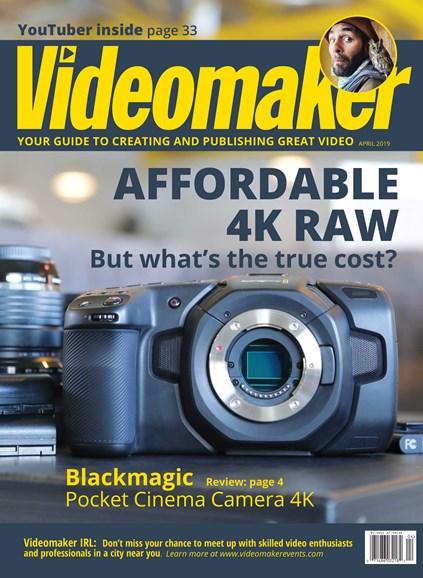 Videomaker Cover - 4/1/2019