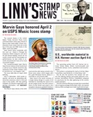 Linn's Stamp News Magazine 4/1/2019