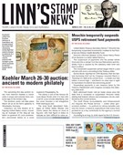 Linn's Stamp News Magazine 3/25/2019