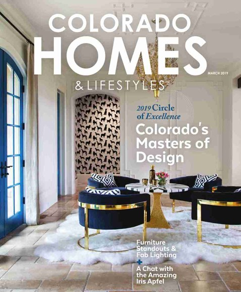 Colorado Homes & Lifestyles Cover - 3/1/2019