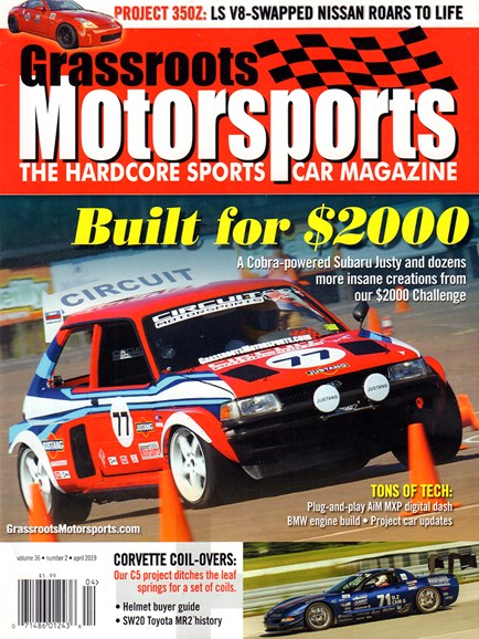 Grassroots Motorsports Cover - 4/1/2019