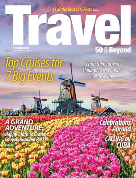 Travel 50 & Beyond Cover - 3/1/2019
