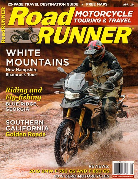 Road RUNNER Motorcycle & Touring Cover - 4/1/2019
